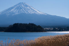 λίμνη kawaguchiko της Ιαπωνίας fuji Στοκ Εικόνες