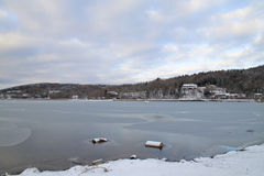 Λίμνη Kawaguchiko στοκ εικόνα με δικαίωμα ελεύθερης χρήσης