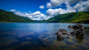 Λίμνη Kawaguchiko Στοκ Εικόνες