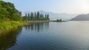 Λίμνη Kawaguchiko Στοκ Φωτογραφία