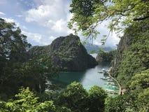 Λίμνη Kayangan Στοκ φωτογραφίες με δικαίωμα ελεύθερης χρήσης