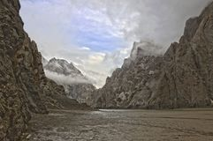 Λίμνη kel-Suu στοκ εικόνα με δικαίωμα ελεύθερης χρήσης