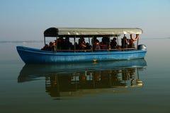 Λίμνη Kerkini Ελλάδα επιφύλαξης φύσης Στοκ εικόνα με δικαίωμα ελεύθερης χρήσης