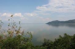 Λίμνη Kerkini Σέρρες Ελλάδα στοκ φωτογραφία με δικαίωμα ελεύθερης χρήσης