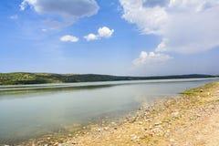 Λίμνη Khabeki, σύντομα κοιλάδα στοκ φωτογραφία με δικαίωμα ελεύθερης χρήσης