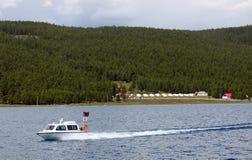 Λίμνη Khovsgol, βόρεια Μογγολία Στοκ φωτογραφία με δικαίωμα ελεύθερης χρήσης