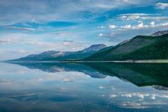 Λίμνη Khovsgol Khovsgol Dalai, βόρεια Μογγολία στοκ φωτογραφία με δικαίωμα ελεύθερης χρήσης