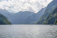 Λίμνη Koenigssee Στοκ Εικόνα