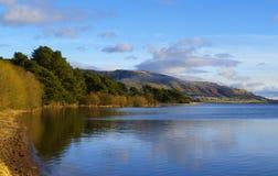 Λίμνη Leven, Σκωτία Στοκ εικόνες με δικαίωμα ελεύθερης χρήσης