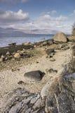 Λίμνη Linnhe σε Argyll, Σκωτία Στοκ Φωτογραφίες