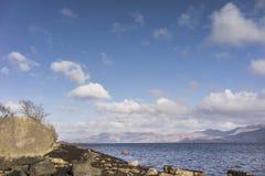 Λίμνη Linnhe σε Argyll, Σκωτία Στοκ Εικόνα