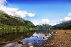 Λίμνη Lubnaig, λίμνη Lomond & εθνικό πάρκο Trossachs Στοκ εικόνα με δικαίωμα ελεύθερης χρήσης