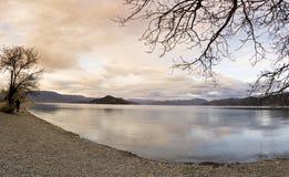 Λίμνη Lugu Στοκ Εικόνα