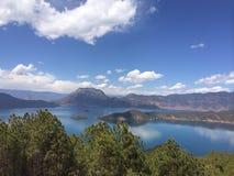 Λίμνη Lugu, Yunnan, Κίνα Στοκ φωτογραφία με δικαίωμα ελεύθερης χρήσης