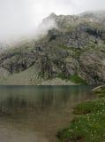 Λίμνη Lunghin Στοκ εικόνα με δικαίωμα ελεύθερης χρήσης