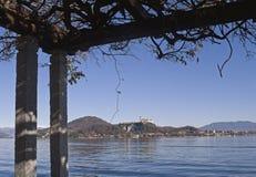 Λίμνη Maggiore, Ιταλία Στοκ Φωτογραφίες