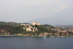 Λίμνη Maggiore Angera Στοκ Φωτογραφίες