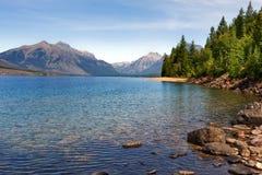 λίμνη mcdonald Στοκ Εικόνες