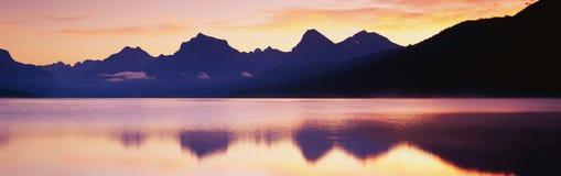 Λίμνη McDonald Στοκ φωτογραφία με δικαίωμα ελεύθερης χρήσης