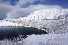 Λίμνη Mikurigaike στον τομέα Mudoro Στοκ Φωτογραφίες