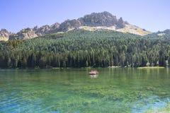 Λίμνη Misurina Στοκ εικόνες με δικαίωμα ελεύθερης χρήσης
