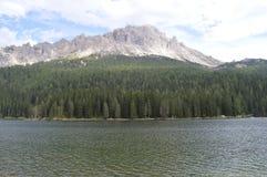 Λίμνη Misurina Στοκ Εικόνα