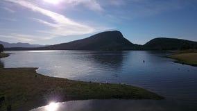 Λίμνη Moogerah στο Queensland απόθεμα βίντεο
