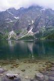 Λίμνη Morskie Oko στοκ φωτογραφία με δικαίωμα ελεύθερης χρήσης