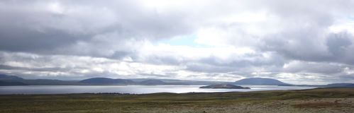 Λίμνη Myvtan Στοκ Φωτογραφία