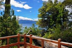 Λίμνη Nahuel Huapi Στοκ Φωτογραφίες