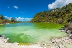 Λίμνη Ngakoro Στοκ φωτογραφία με δικαίωμα ελεύθερης χρήσης