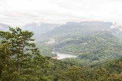 Λίμνη Nuwara Eliya της Σρι Λάνκα Στοκ φωτογραφία με δικαίωμα ελεύθερης χρήσης