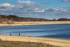 Λίμνη Nysa Στοκ εικόνες με δικαίωμα ελεύθερης χρήσης