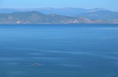 λίμνη ohrid στοκ φωτογραφίες