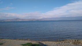 Λίμνη Ohrid Στοκ φωτογραφίες με δικαίωμα ελεύθερης χρήσης