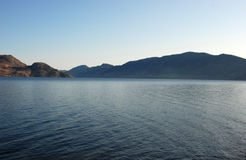 λίμνη okanagan στοκ εικόνα