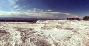 Λίμνη Pamukkale αρχαία στοκ εικόνες