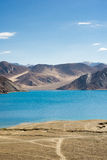 Λίμνη Pangong σε Ladakh, Ινδία Στοκ Εικόνα