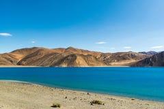 Λίμνη Pangong σε Ladakh, Ινδία Στοκ Φωτογραφίες