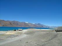 Λίμνη Pangong σε ladakh-14 Στοκ Φωτογραφία