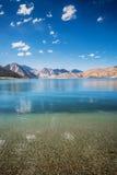 Λίμνη Pangong Στοκ φωτογραφία με δικαίωμα ελεύθερης χρήσης