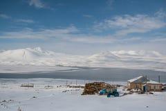 Λίμνη Paravani Στοκ Φωτογραφία