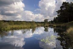 Λίμνη Patersmoer κοντά σε Strijbeek Στοκ εικόνες με δικαίωμα ελεύθερης χρήσης