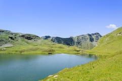 Λίμνη Perrin Cuneaz (κοιλάδα Aosta - βόρεια Ιταλία) Στοκ Εικόνες