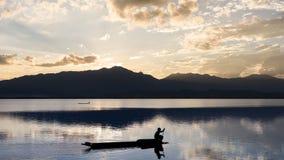 Λίμνη Phayao, Ταϊλάνδη στοκ φωτογραφίες με δικαίωμα ελεύθερης χρήσης