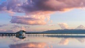 Λίμνη Phayao, Ταϊλάνδη στοκ φωτογραφίες