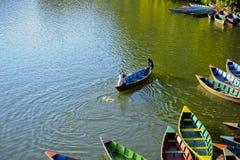 Λίμνη Phewa Στοκ φωτογραφίες με δικαίωμα ελεύθερης χρήσης