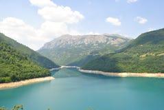 Λίμνη Pivsko, Μαυροβούνιο Στοκ φωτογραφία με δικαίωμα ελεύθερης χρήσης