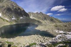Λίμνη pleso Capie Στοκ εικόνα με δικαίωμα ελεύθερης χρήσης