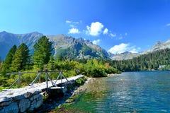 Λίμνη Pleso Popradske Στοκ εικόνες με δικαίωμα ελεύθερης χρήσης